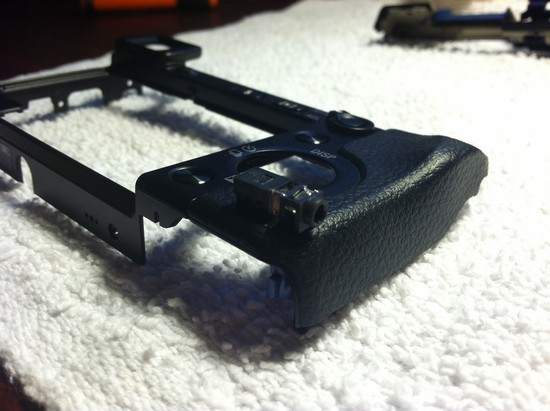How to modify the Sony Nex 7 Compact System Camera to have a hardwire shutter release jack step 7