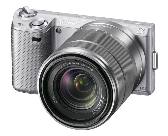 compact system camera sony e-mount nex 5n