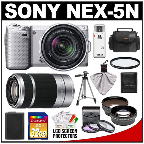 Amazon Bundle for Sony Alpha NEX-5N at $999.95 USD