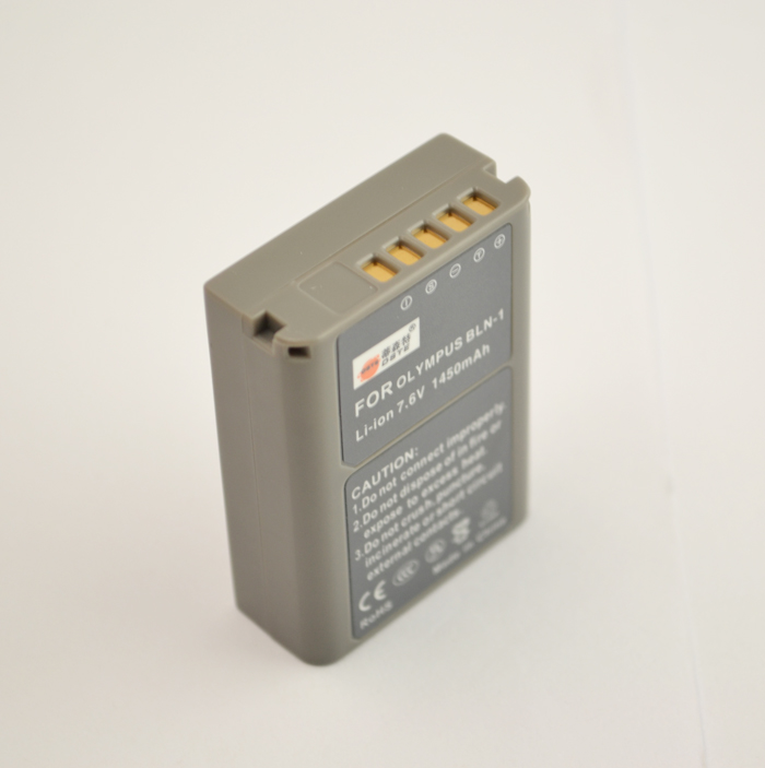 Third Party Battery For Olympus OM-D E-M5 BLN-1 Li-ion 7.6v 1450mAh