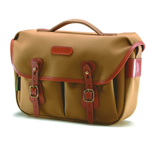 Billingham Hadley Pro Canvas Camera Bag With Tan Leather Trim Kanvas for Olympus OMD EM5, Sony NEX7, Fuji X-PRO1
