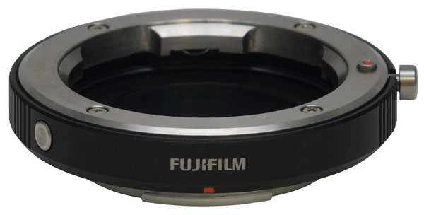 Fuji M Lens Mount Adaptor for the Fuji X-Pro 1 Compact System Camera
