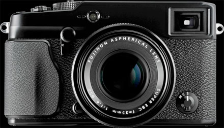 Fuji X-Pro1 Compact System Camera Black Body