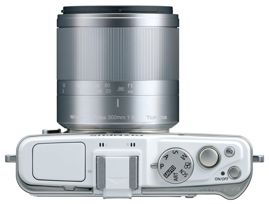 Kenko Tokina 300mm mirror lens for micro four thirds