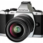 Olympus OM-D E-M5 Silver Body Micro Four Thirds Compact System Camera with 12-50mm kit lens