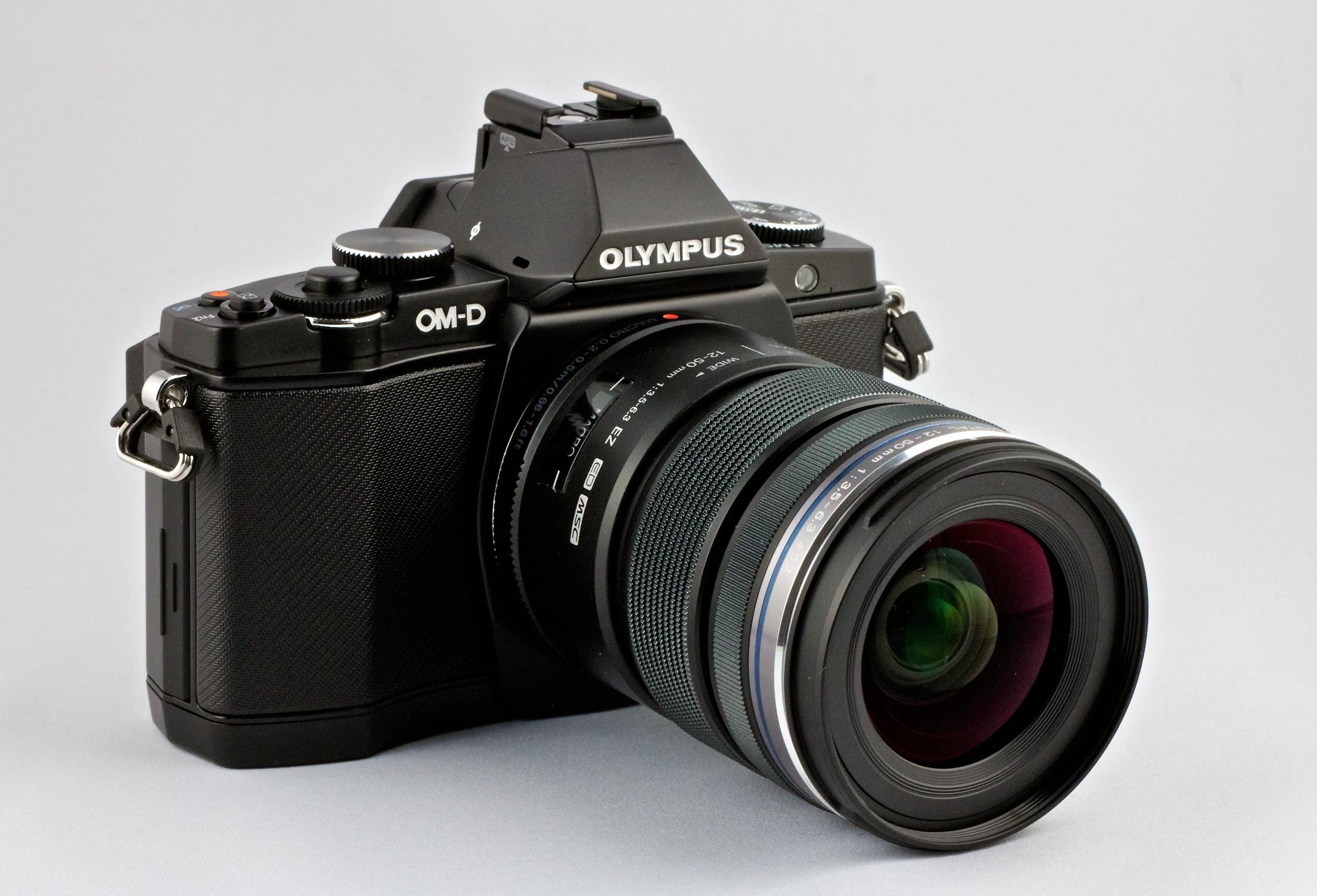 Olympus OM-D EM-5 Micro Four Thirds Compact System Camera ...