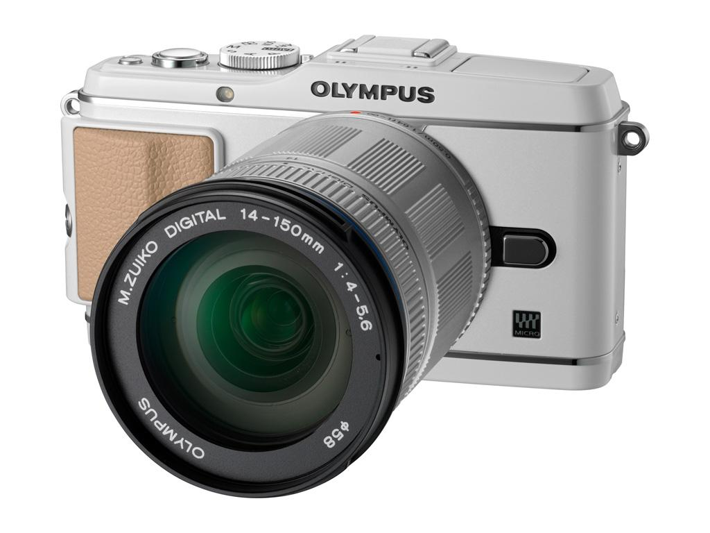 Olympus PEN E-P3 12.3 Megapixel Compact System Camera with Micro Four Thirds Sensor and 14-150mm lens