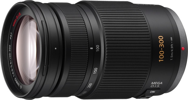 Panasonic Lumix 100-300mm F4.0-5.6 Micro Four Thirds Lens with OIS Black