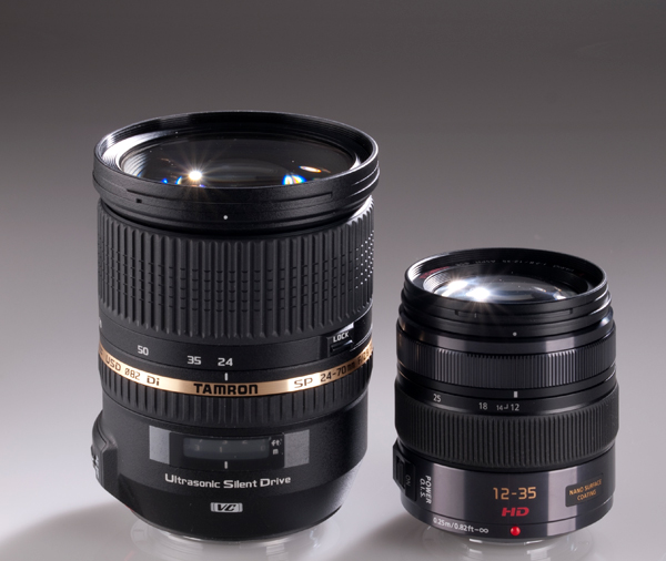 Panasonic Lumix GX Vario 12 35mm F2.8 Asph for Micro Four Thirds vs Tamron 24 70mm F2.8 for DSLR lens