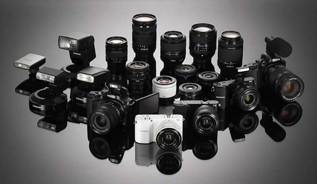 Samsung NX20 NX210 NX1000 Compact System Cameras
