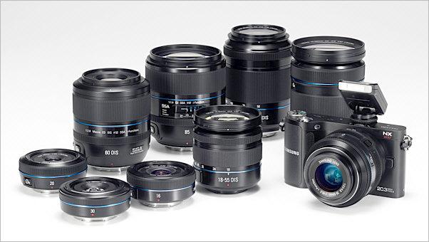 Samsung NX compact system camera