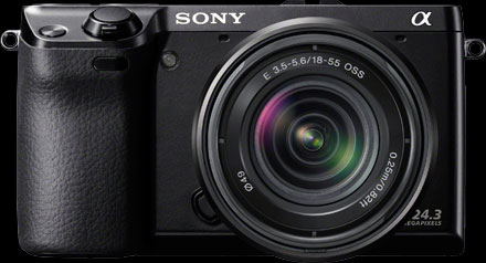 Sony Alpha NEX-7 Compact System Camera Black Body