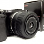 Sony Alpha NEX 7 Compact System Camera with Sigma 30mm F2.8 lens