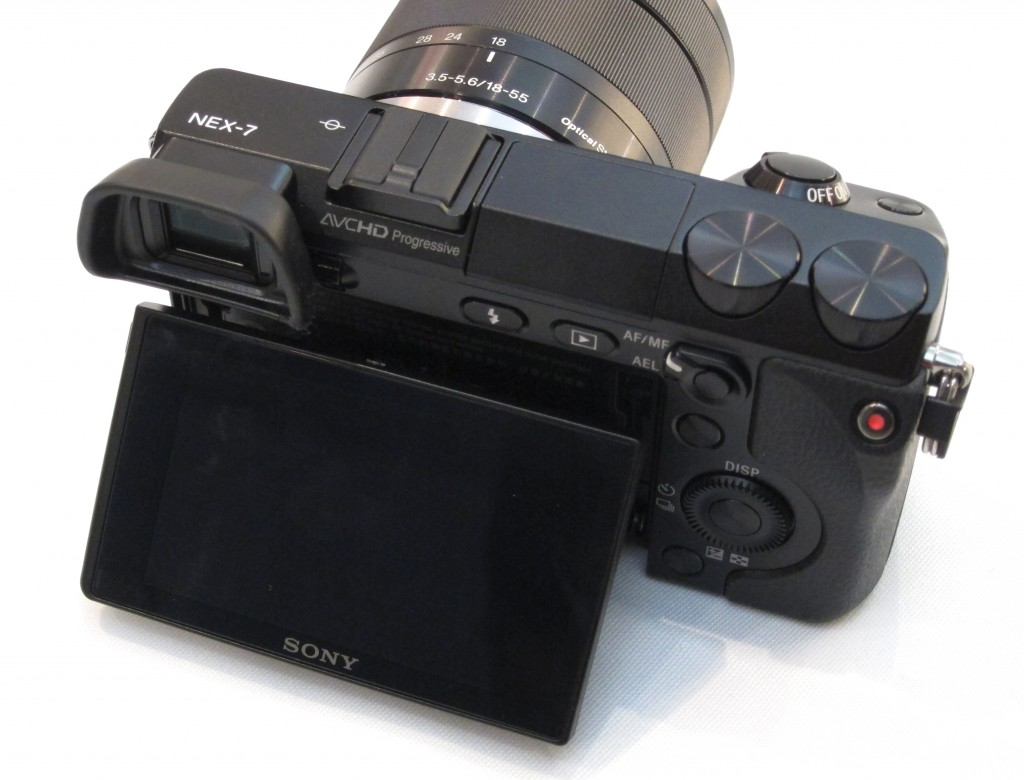 Sony Alpha NEX 7 video shoot button issues