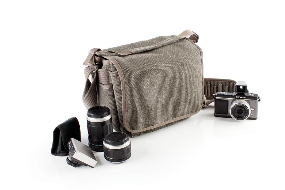 Think Tank Retrospective 5 Pinestone Shoulder Bag for Olympus OMD EM5, Sony NEX7, Fuji X-PRO1