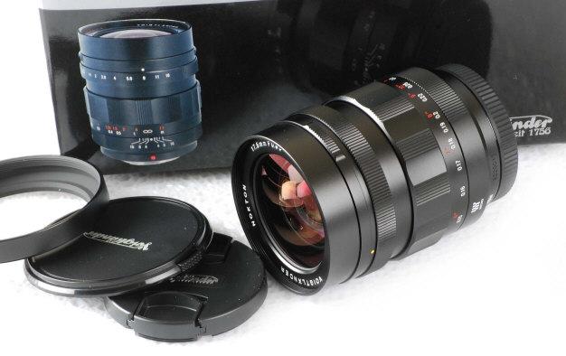 Voigtlander Nokton 17mm F0.95 Lens for Micro Four Thirds Camera in Box