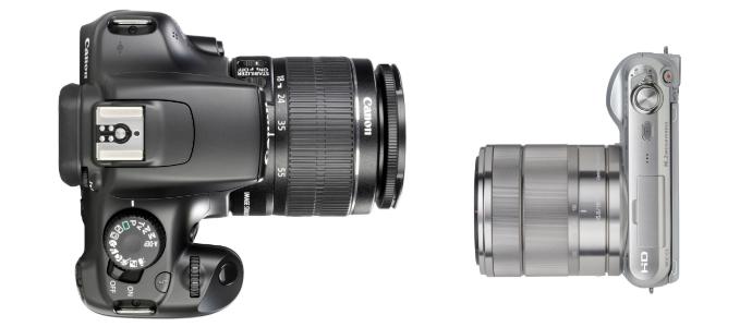 Compact System Cameras vs. DSLRs - David vs. Goliath