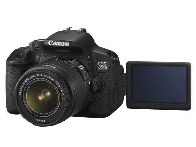 Canon 650D the predecessor of Canon's first Compact System Camera