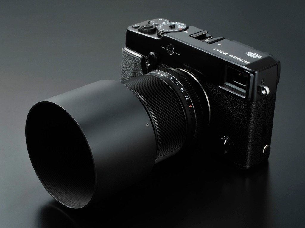 Fuji X-Pro 1 with Fujinon XF 60mm F2.4 Macro Lens