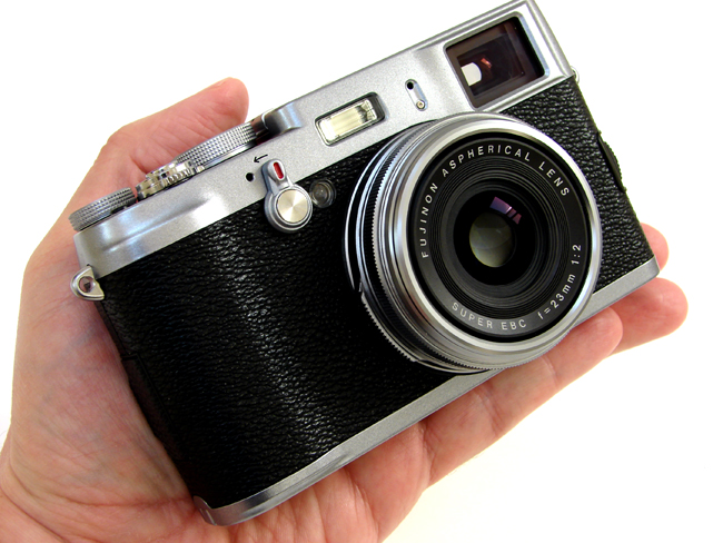 Fuji X100 digital camera with Fujinon 23mm F2.0 Aspherical Lens