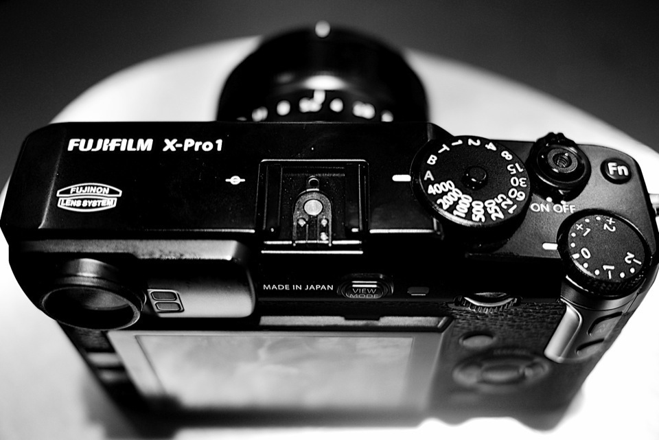 Fujifilm X-Pro1 Compact System Camera top view