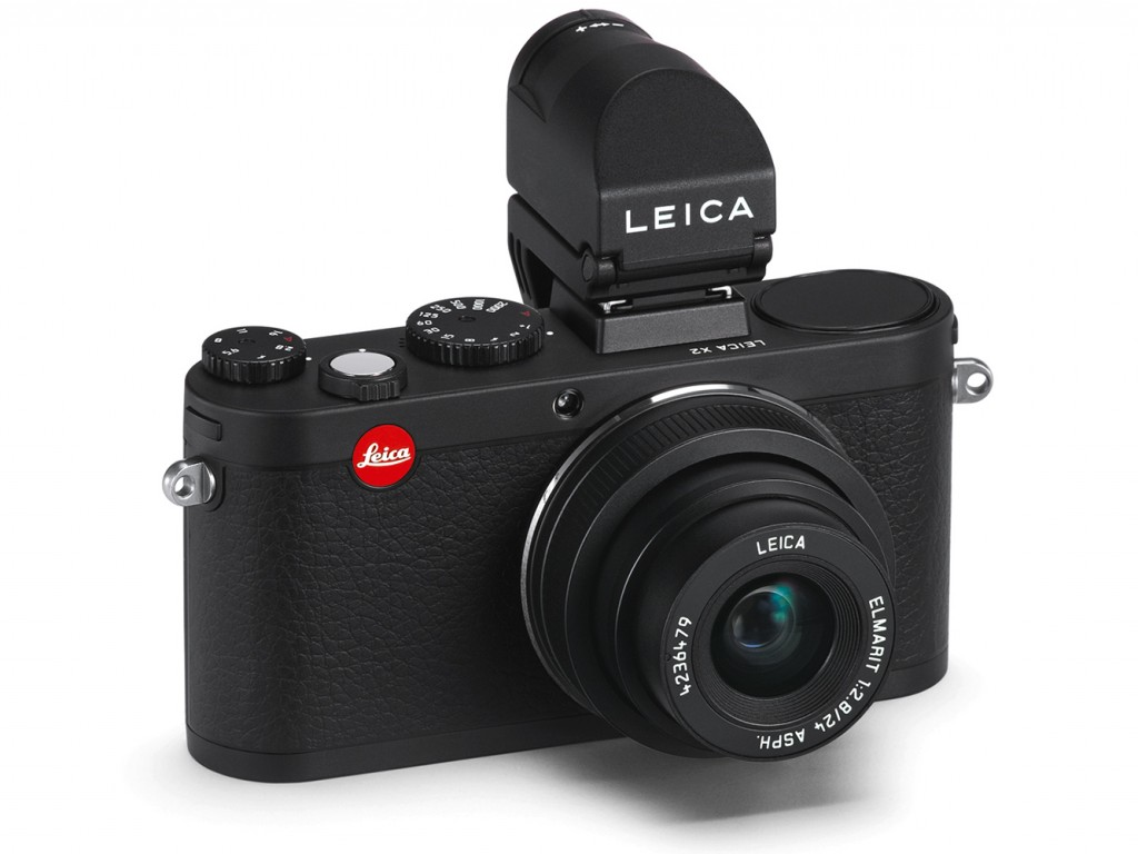 Leica X2 with Elmarit 24mm F2.8 Lens Black Color