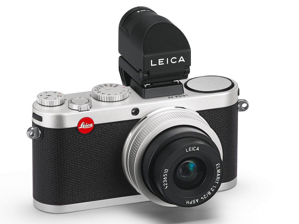 Leica X2 with Elmarit 24mm F2.8 Lens Silver Color