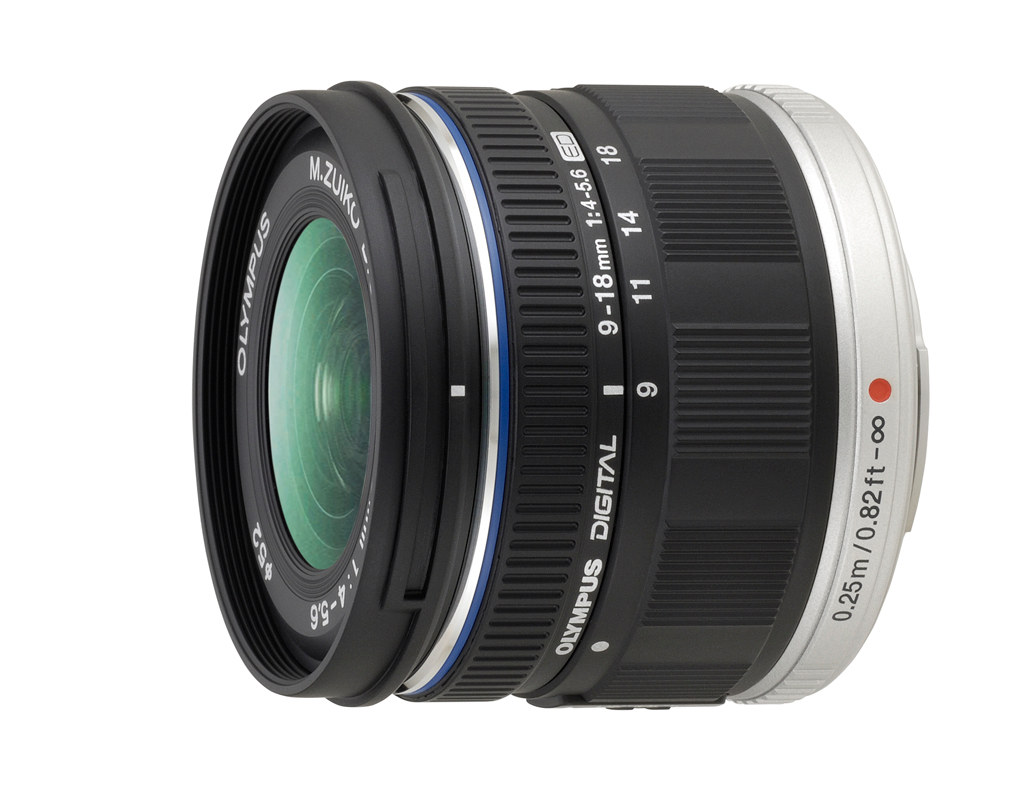 Olympus 9-18mm F4.0-5.6 Lens for Micro Four Thirds Compact System Cameras