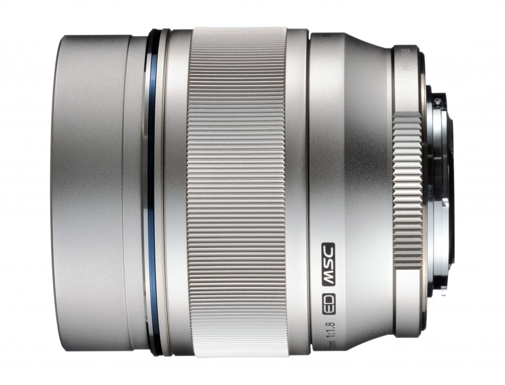 Olympus M ZD 75mm F1.8 lens for Micro Four Thirds Compact System Cameras