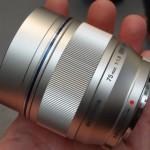 Olympus M Zuiko Digital 75mm F1.8 Lens for Micro Four Thirds Compact System Cameras
