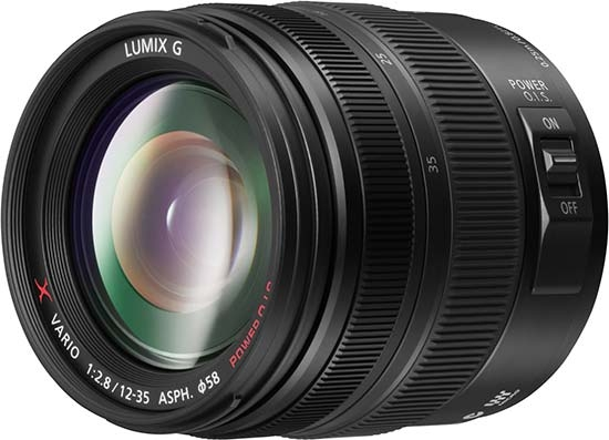 Panasonic 12-35mm F2.8 X Lens for Micro Four Thirds Compact System Cameras