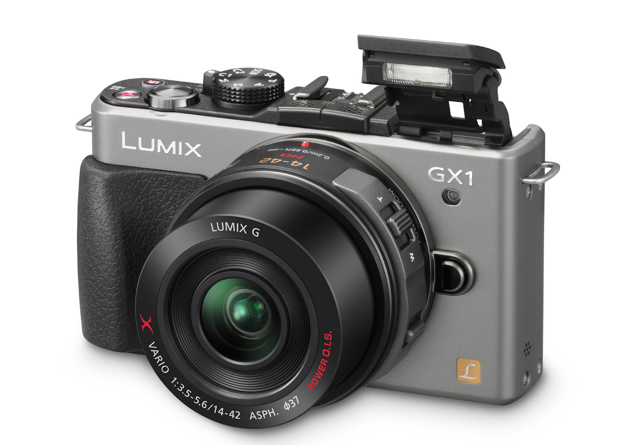 Panasonic GX1 Micro Four Thirds Compact System Camera with 14-42 X Lens