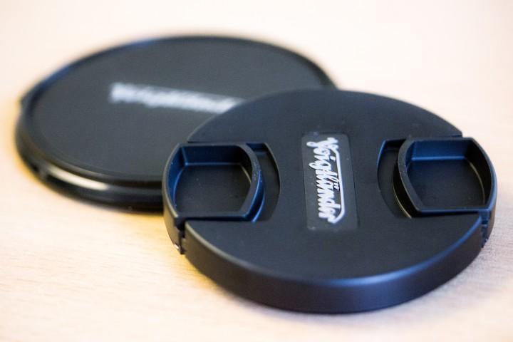 Voigtlander Nokton 17mm F0.95 Lens for Micro Four Thirds Compact System Cameras Plastic Lens Cap