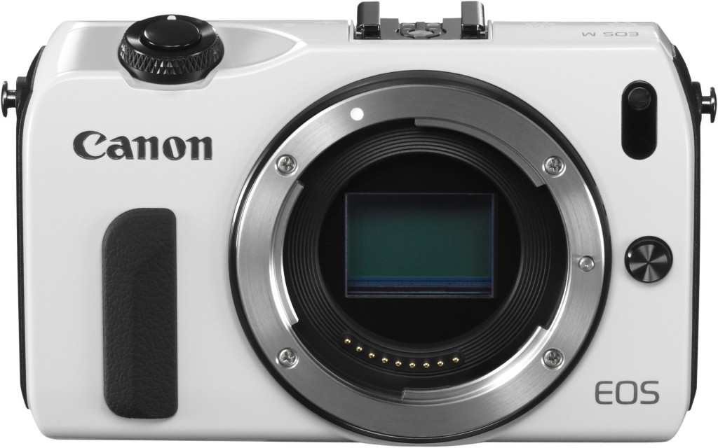 Canon EOS M Compact System Camera White Color