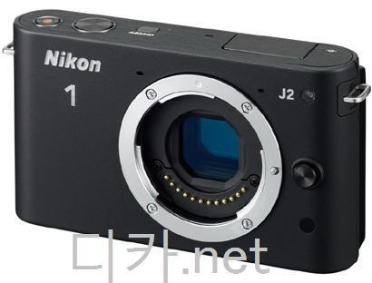 Nikon 1 J2 black compact system camera