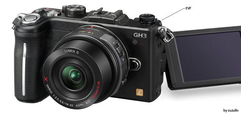 Panasonic Lumix GH3 Micro Four Thirds Compact System Camera