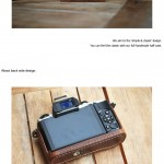 Jnk Handworks Half Leather Cases for Olympus OM-D E-M5 Micro Four Thirds Compact System Camera