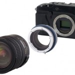 Novoflex adaptor for Fuji X-Pro1
