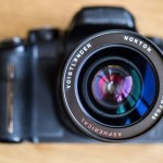 Panasonic GH2 Micro Four Thirds Compact System Camera With Voigtlander Nokton 17mm F0.95 Lens