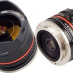 Samyang 8mm Fisheye Lens for Sony NEX Compact System Cameras
