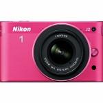 Nikon 1 J2 Compact System Camera Pink