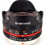 Samyang 7.5mm F3.5 UMC Fisheye Lens